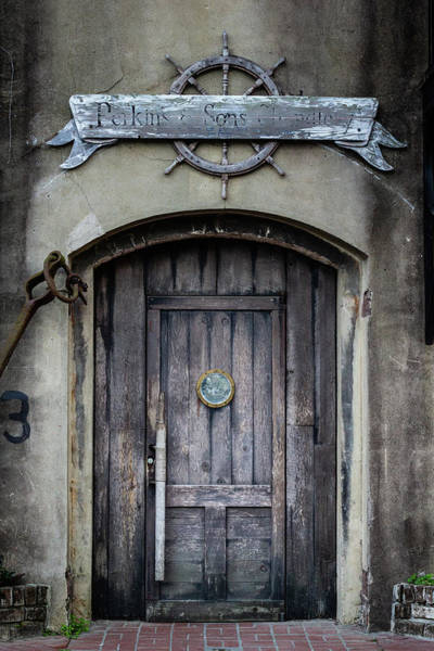 Photograph - Perkins And Sons Door by Randy Bayne