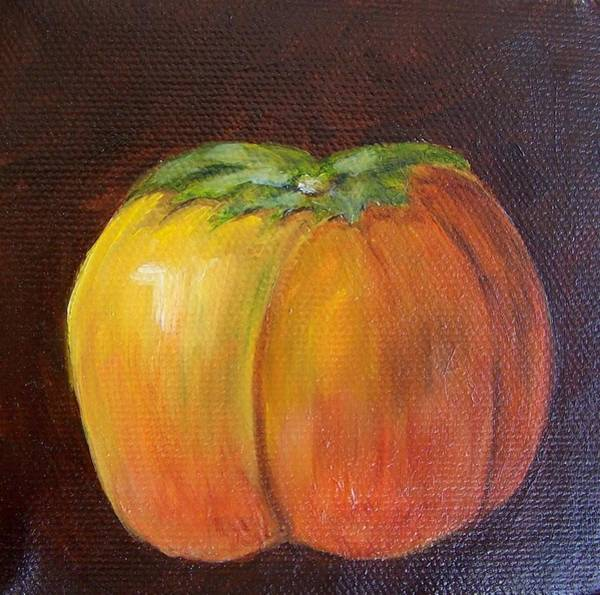 Painting - Persimmon 9 by Susan Dehlinger