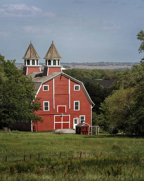 Photograph - Peter Peterson Barn  by Susan Rissi Tregoning