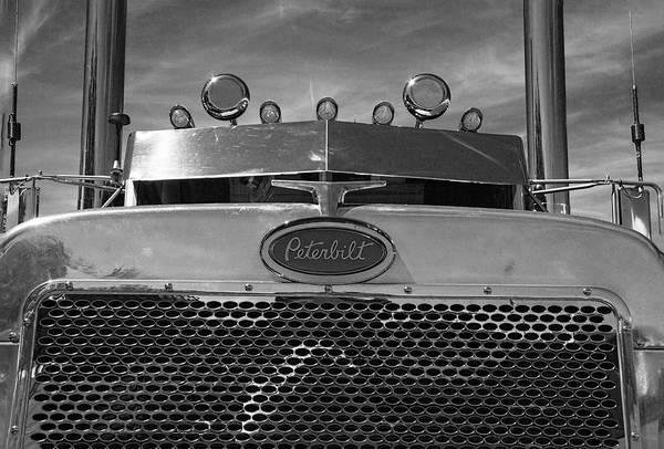 Peterbilt Photograph - Peterbilt Semi Truck by Nick Gray