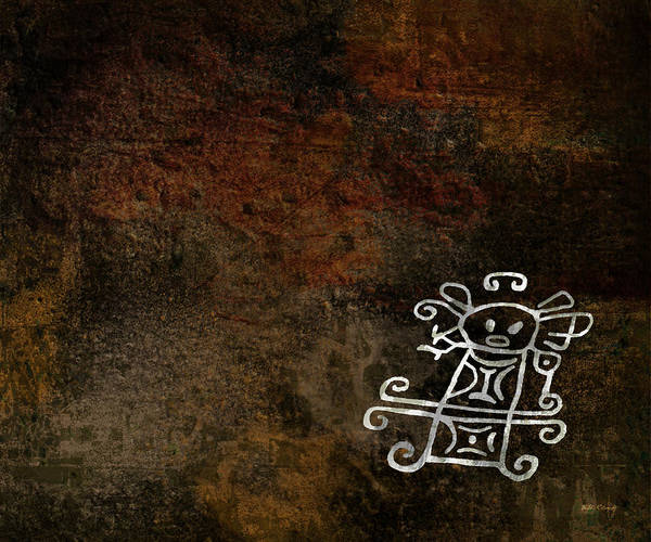 Petroglyphs Digital Art - Petroglyph 2 by Bibi Rojas