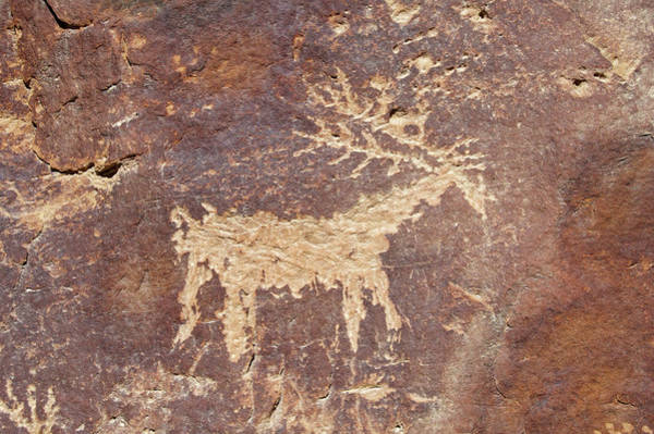 Petroglyph - Fremont Indian Art Print