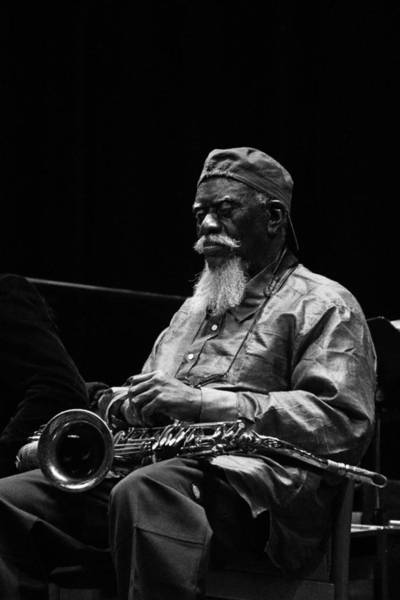 Photograph - Pharoah Sanders 3 by Lee Santa