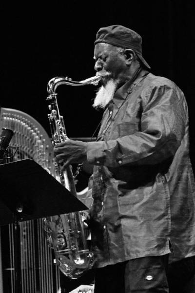 Photograph - Pharoah Sanders 4 by Lee Santa