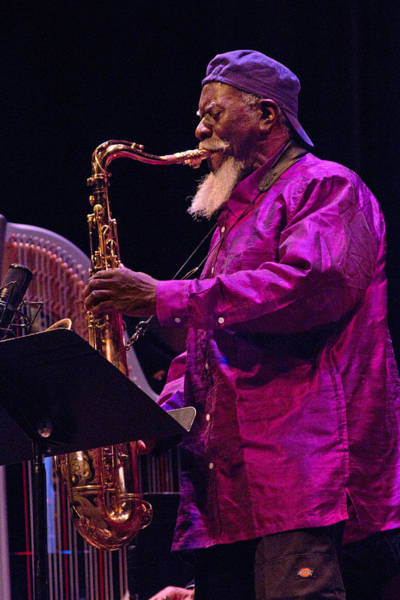 Photograph - Pharoah Sanders 5 by Lee Santa