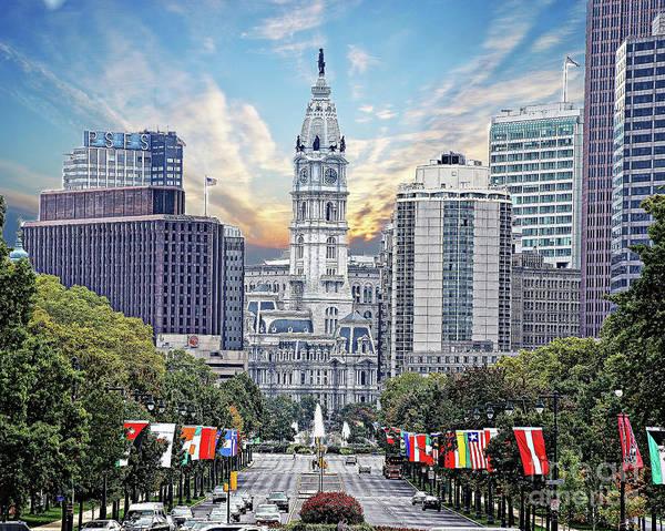 Wall Art - Photograph - Philadelphia City Hall 2 by Jack Paolini