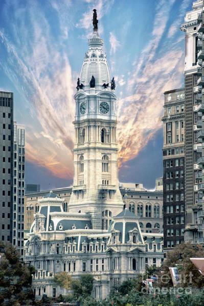 Wall Art - Photograph - Philadelphia City Hall by Jack Paolini