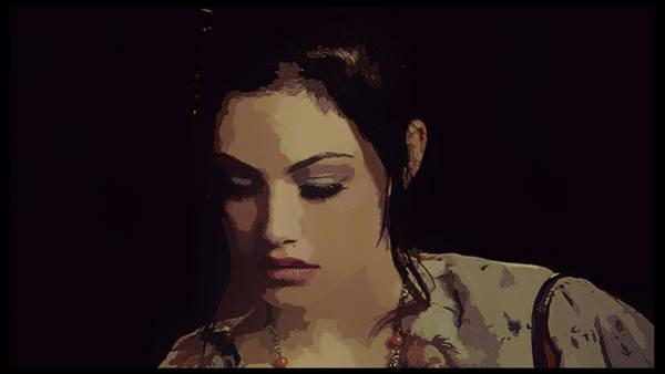 Phoebe Digital Art - Phoebe Tonkin by Lora Battle