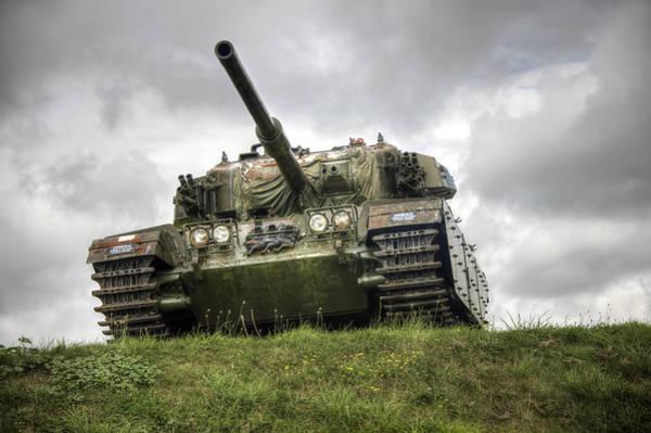 Photograph - Tank by Gouzel -