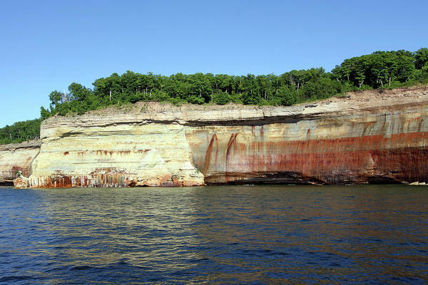 Photograph - Pictured Rocks National Lakeshore by Jackson Pearson