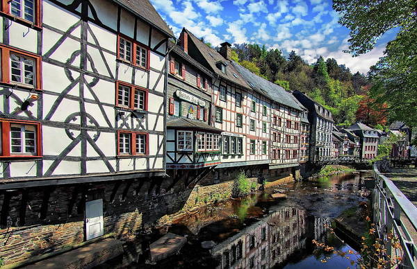 Photograph - Picturesque Half-timbered Houses by Anthony Dezenzio