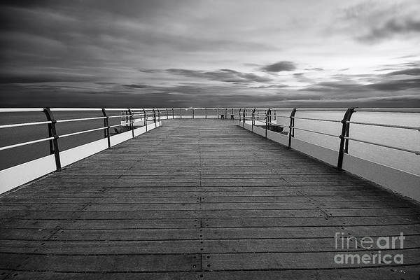 North Sea Photograph - Pier End by Smart Aviation