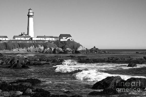 Wall Art - Photograph - Pigeon Point Lighthouse On California Coast by ELITE IMAGE photography By Chad McDermott