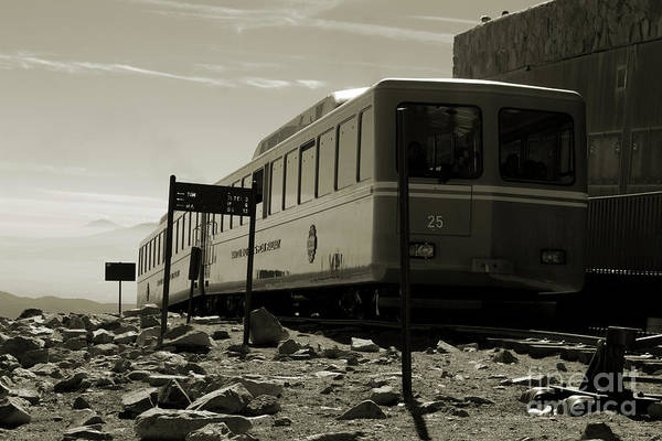 Photograph - Pikes Peak Cog Railway by Steve Krull