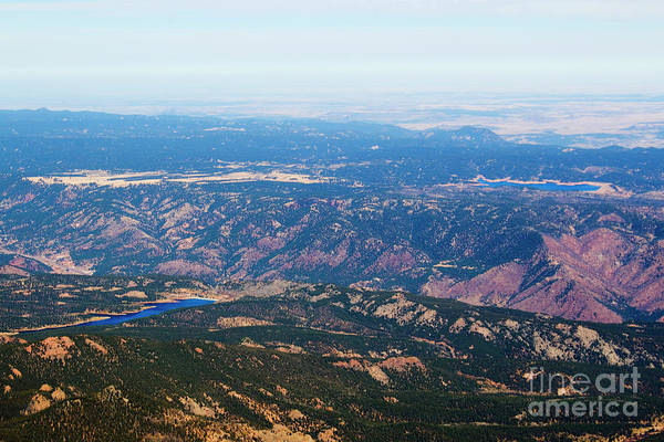 Photograph - Pikes Peak Highway by Steve Krull