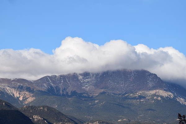 Photograph - Pikes Peak by Margarethe Binkley