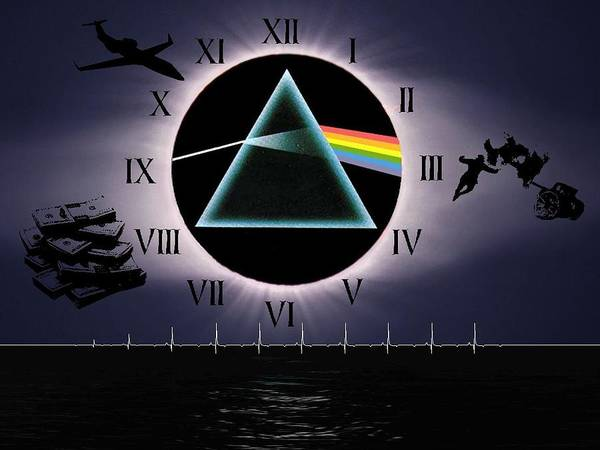 Wall Art - Digital Art - Pink Floyd by Mery Moon