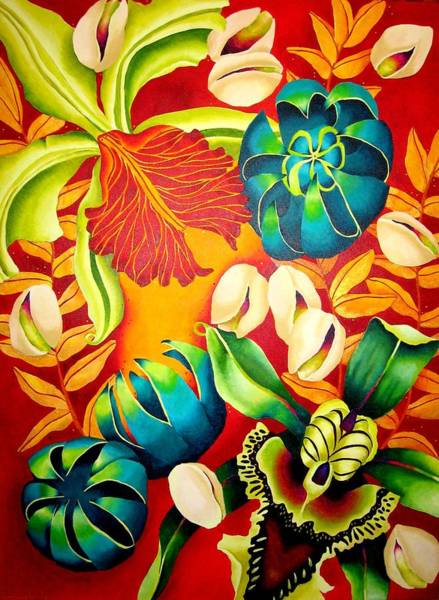 Wall Art - Painting - Pistachio by Elizabeth Elequin