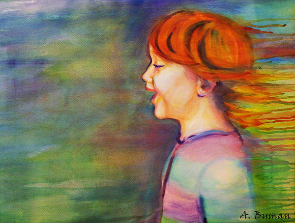 Painting - Play Days by Angelique Bowman
