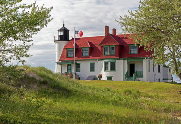 Photograph - Point Betsie Lighthouse by Fran Riley