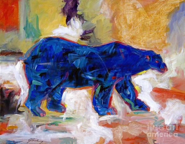 Painting - Polar Bear by David Lloyd Glover