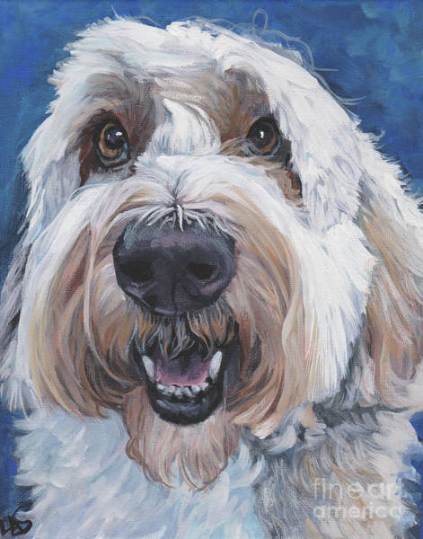 Wall Art - Painting - Polish Lowland Sheepdog by Lee Ann Shepard