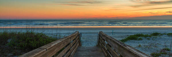 Photograph - Ponce Inlet Sunrise by Stefan Mazzola