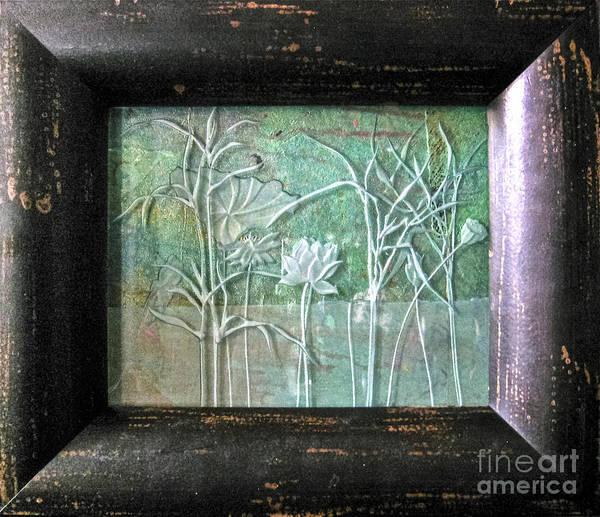 Glass Art - Pond by Alone Larsen
