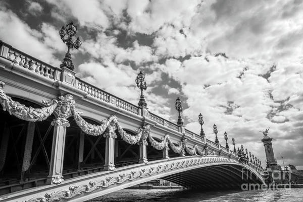Wall Art - Photograph - Pont Alexandre IIi In Paris by Delphimages Photo Creations