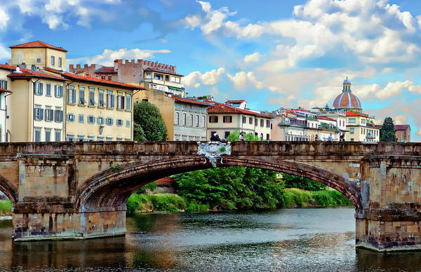 Photograph - Ponte Santa Trinita by Anthony Dezenzio