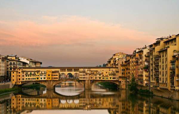 Photograph - Ponte Vecchio by Mick Burkey