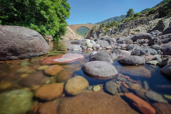 Calvi Photograph - Ponte Vecchiu - Corsica by Joana Kruse