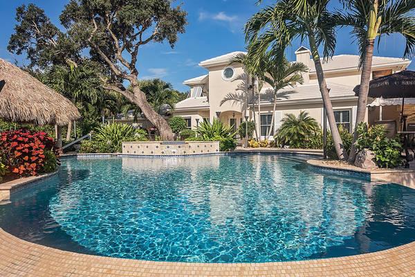 Photograph - Pool Home by Jody Lane