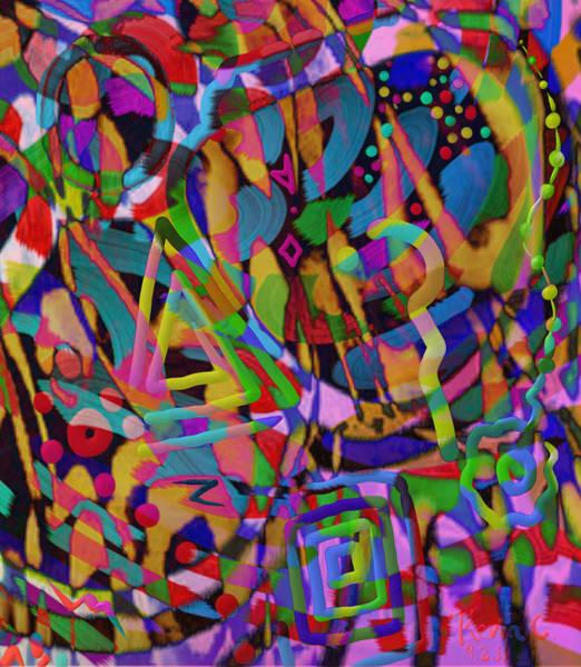 Groovy Mixed Media - Popper by Kevin Caudill