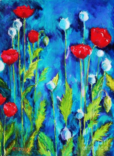 Painting - Poppies by Melinda Etzold