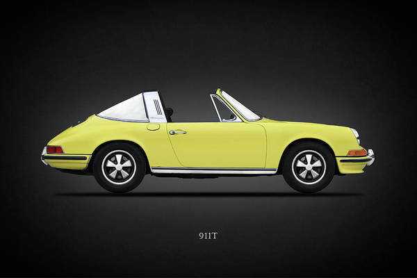 Wall Art - Photograph - Porsche 911 Targa by Mark Rogan