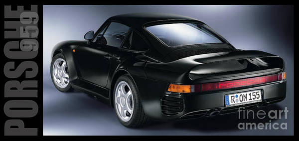 Wall Art - Photograph - The Porsche 959 by Jon Neidert