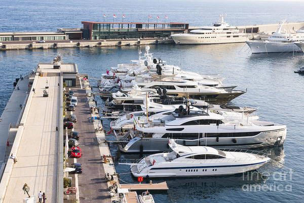Photograph - Port Hercule In Monaco by Elena Elisseeva
