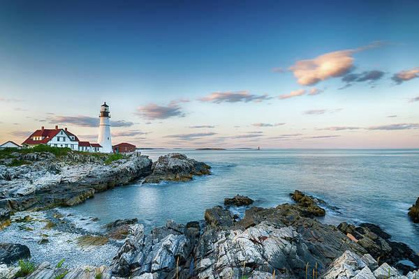 Sandy Point State Park Photograph - Portland Head Lighthouse by Glen Moffitt