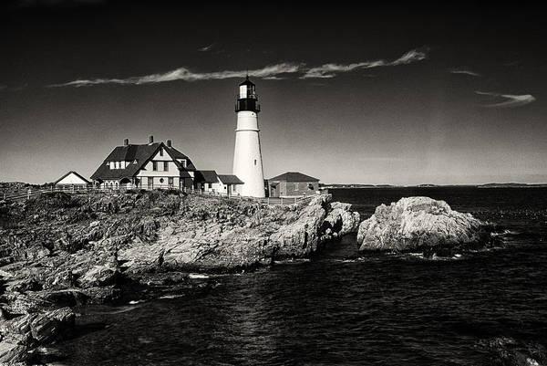 Portland Wall Art - Photograph - Portland Head Lighthouse by Robert Fawcett