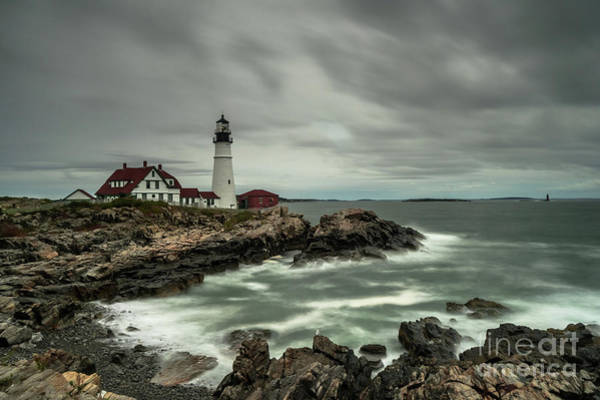 Guard Tower Wall Art - Photograph - Portland Headlight by DiFigiano Photography