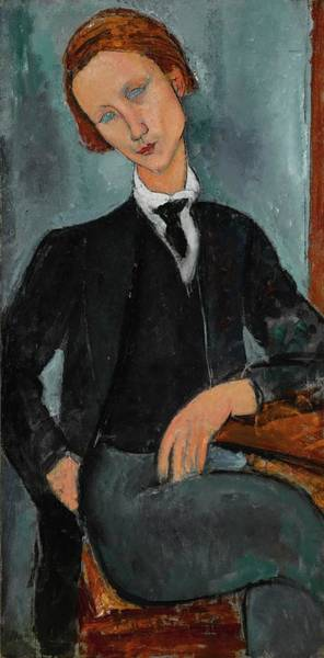 Wall Art - Painting - Portrait De Baranowski by Amedeo Modigliani