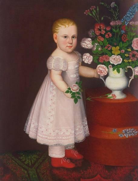 1781 Painting - Portrait Of A Blond by Zedekiah Belknap