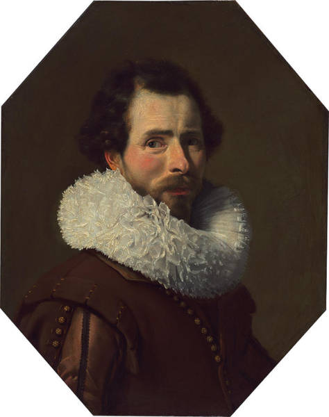 Painting - Portrait Of A Gentleman Wearing A Fancy Ruff by Thomas de Keyser