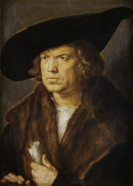 Painting - Portrait Of A Man  by Albrecht Durer