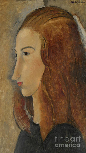 Modigliani Painting - Portrait Of A Young Woman  by Amedeo Modigliani