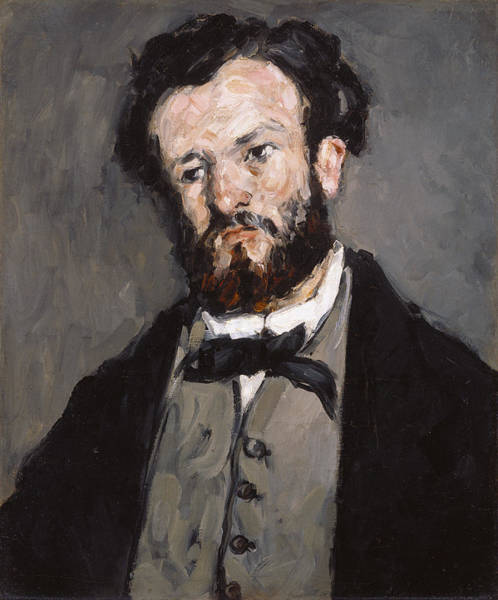 Painting - Portrait Of Anthony Valabreque by Paul Cezanne