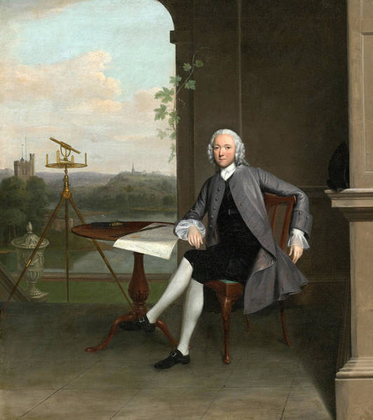 Arthurs Seat Painting - Portrait Of Jonas Hanway by Arthur Devis