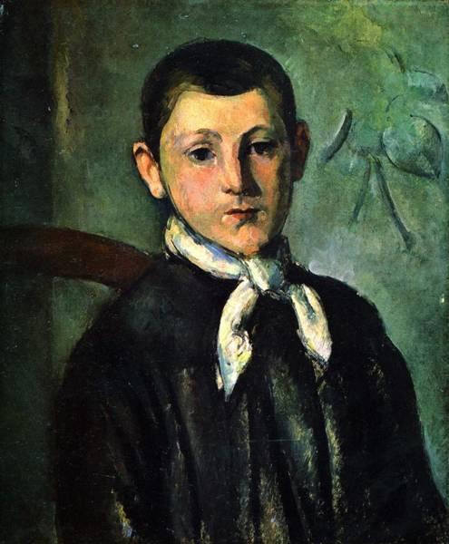 Painting - Portrait Of Louis Guillaume by Paul Cezanne