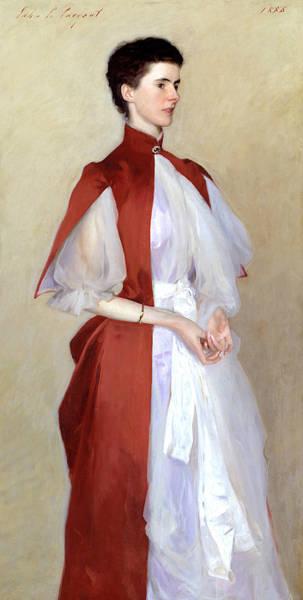 Portrait Of Mrs Robert Harrison Art Print